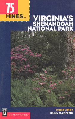 Photo of 75 Hikes in Virginia's Shenandoah National Park book