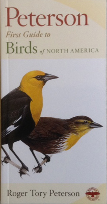 Photo of Peterson 1st Guide to Birds book