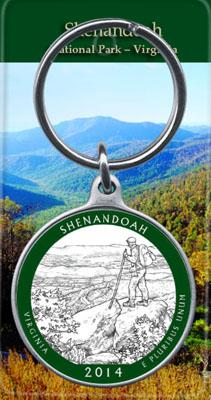 Photo of Shenandoah Quarter Keychain
