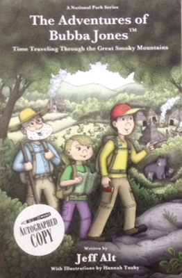 Photo of Adventures of Bubba Jones in Great Smoky Mountains Book