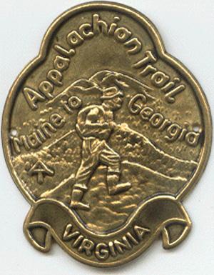 Photo of AT/VA Hiking Medallion