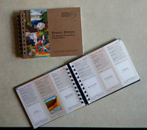 Photo of Travel Stamp Book