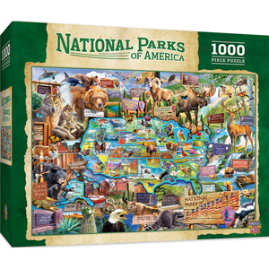 Photo of National Parks of America Puzzle